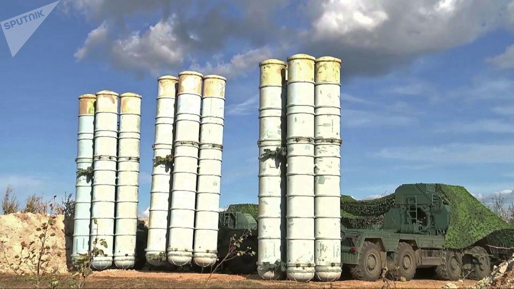 參加東方-2018演習防空演練的S-300 防空導彈系統