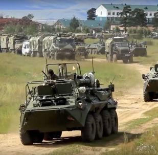 俄南部軍區啓動大規模首長司令部演習
