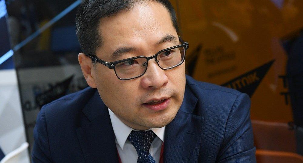 中俄地區合作發展投資基金董事長王峰