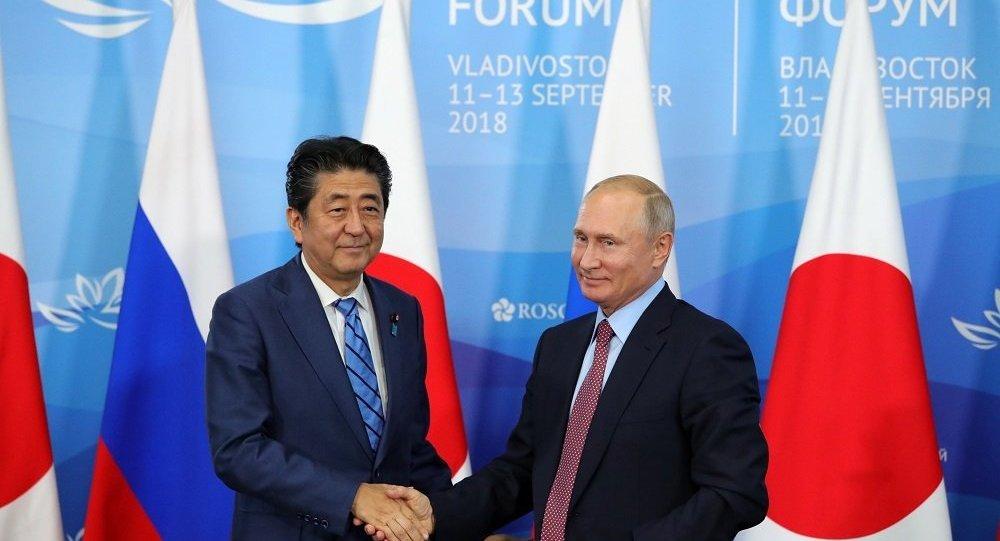 普京的倡议表明俄罗斯致力于同日本签署和平条约
