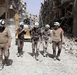 """约旦外交部:约300名""""白头盔""""人员离开约旦前往西方国家"""
