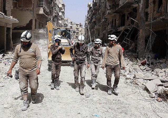 約旦外交部:約300名「白頭盔」人員離開約旦前往西方國家