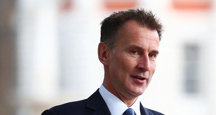 英國外交大臣亨特