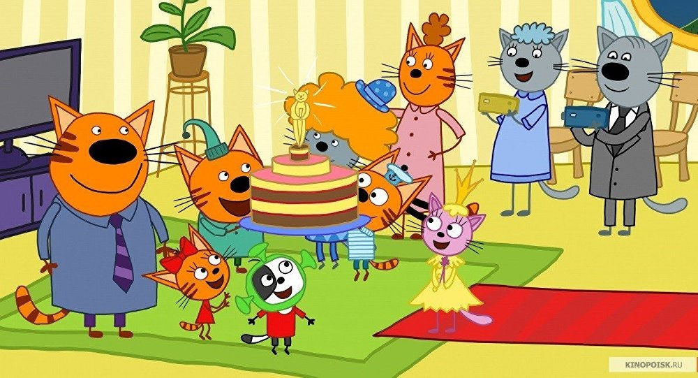 俄罗斯动画片《三只小猫》将于中国播出