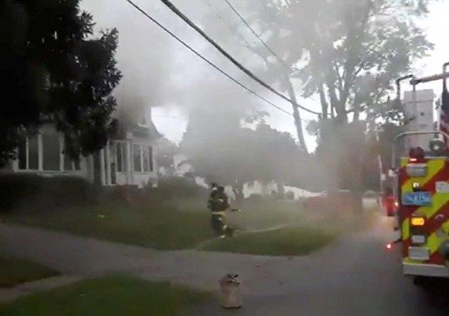 媒体:美国马萨诸塞州居民楼发生瓦斯爆炸并造成一人死亡