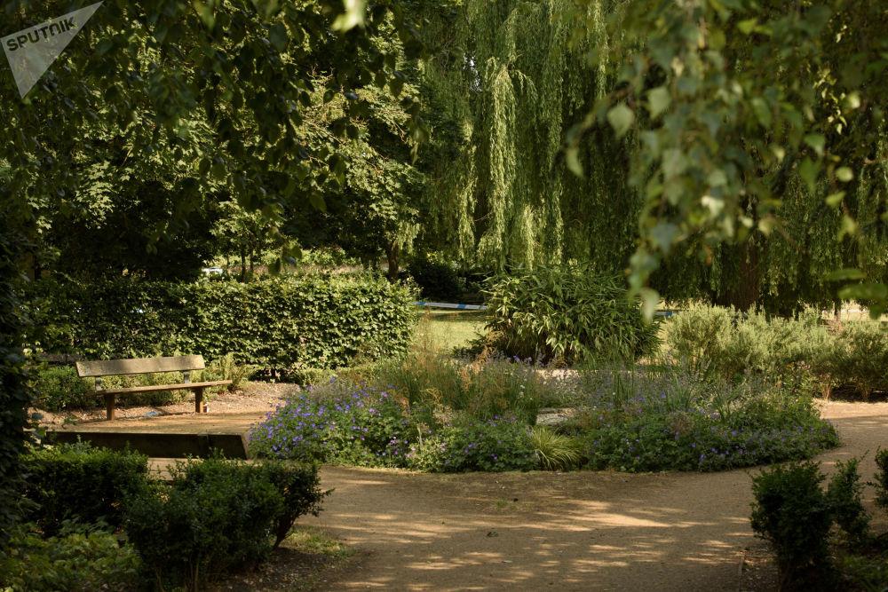 在索尔兹伯里的伊丽莎白女王花园