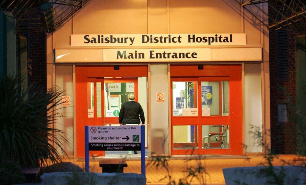 索尔兹伯里医院,有神经毒剂中毒迹象的谢尔盖•斯克里帕利和尤利娅•斯克里帕利父女曾被送到那里