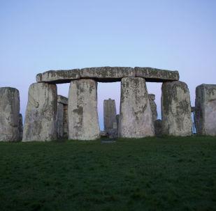 被列入世界遺產名單的巨石陣,位於索爾茲伯里附近