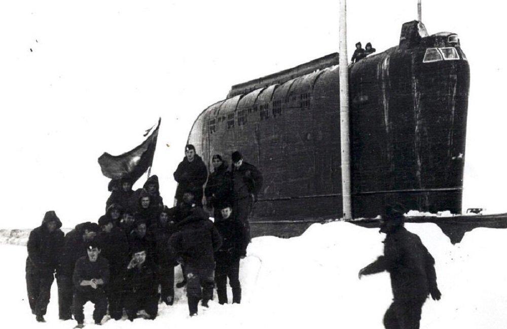 К-178核潜艇的乘员们