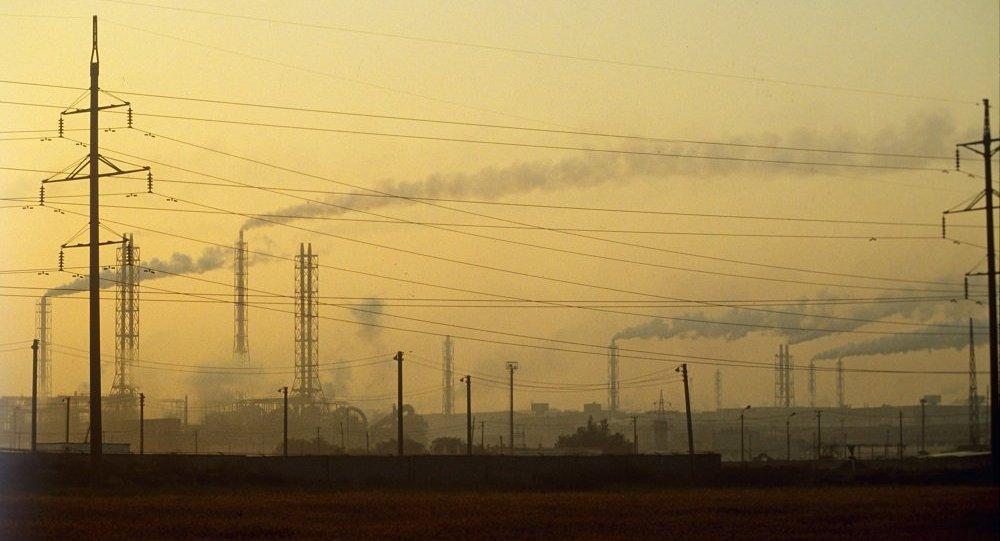 调查人员研究污染克里米亚的6种原因包括乌方排放不明物质