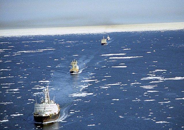 俄羅斯將允許外國船隻首次通過北方海路