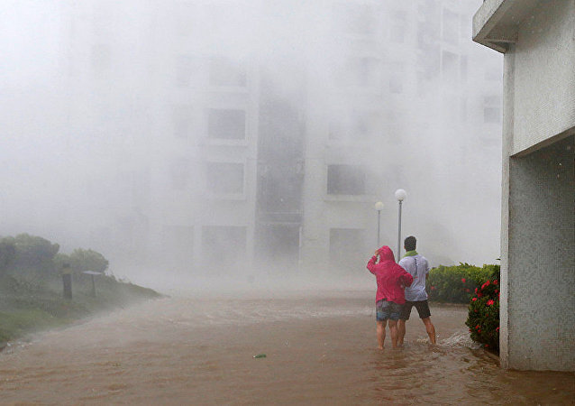 """菲律宾因""""山竹""""台风造成的死难者人数已升至81人"""