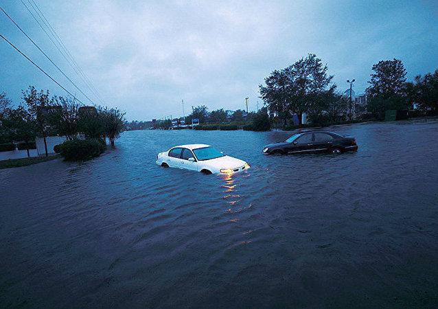 「弗洛倫斯」颶風造成的後果