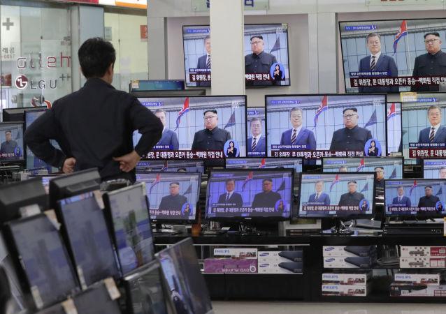 韩国呼吁在朝鲜采取无核化措施后讨论放宽对朝制裁