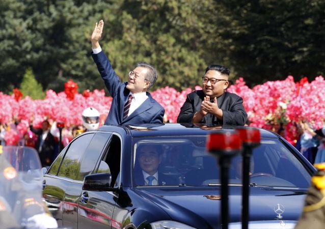 韓國舉行歡迎活動迎接即將來訪的金正恩