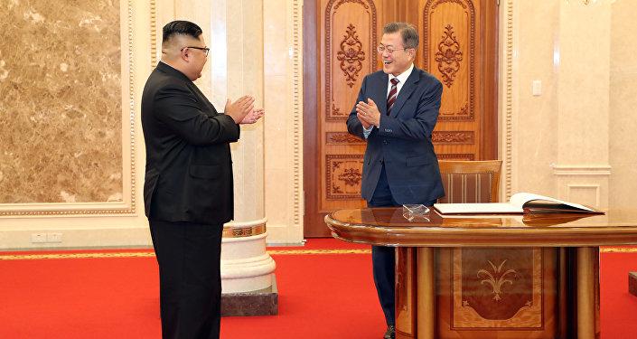 朝韓領導人會晤