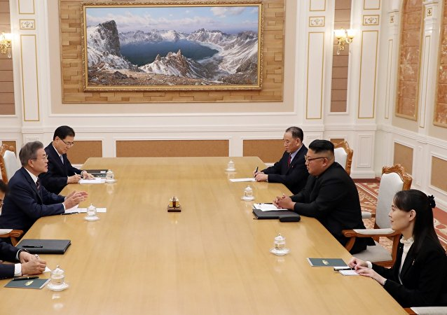 韓朝兩國領導人會談