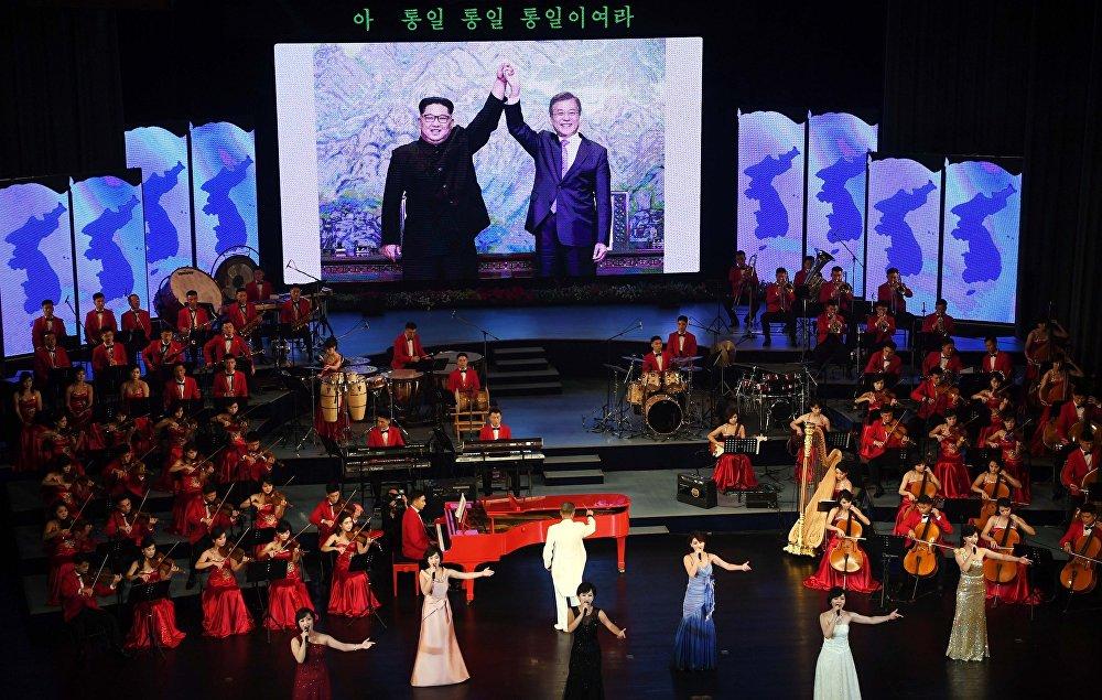 纪念朝韩两国领导人峰会的音乐会