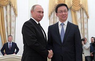 普京:俄中能够制定更加具有进取心的目标