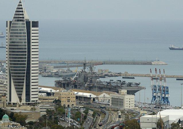中國與以色列港口項目不會威脅美國利益