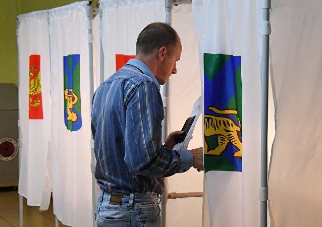 濱海邊疆區行政長官選舉將於12月舉行