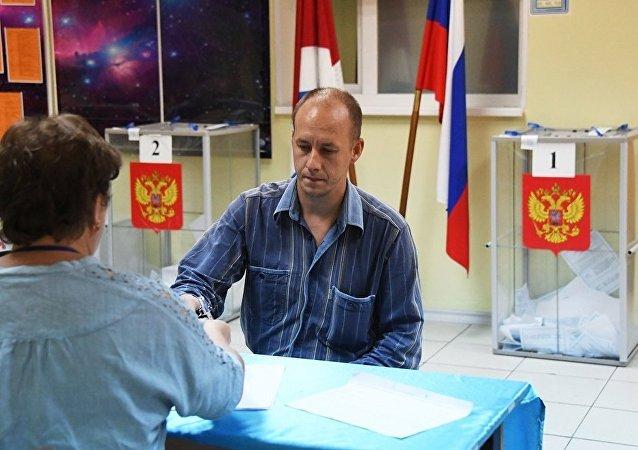 克宫支持俄中选委有关重新举行滨海边疆区行政长官选举的立场