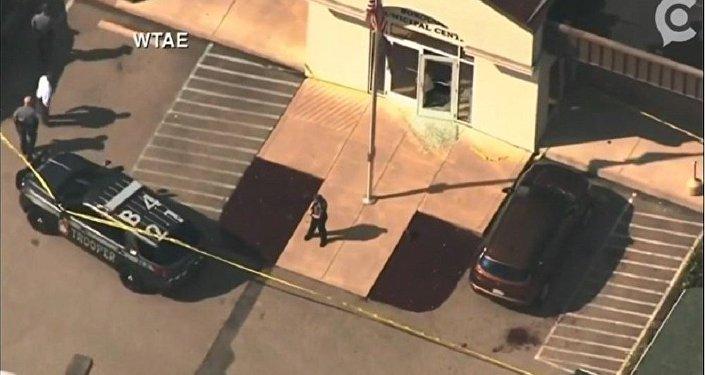 美國法院槍擊事件致4人受傷 槍手被擊斃