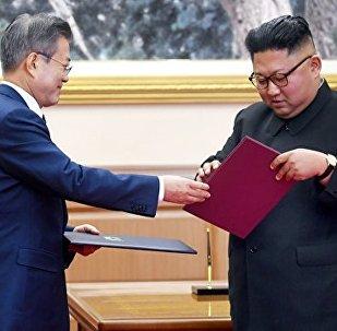 韓政府:韓國將研究金正恩訪問漢拿山的可能性