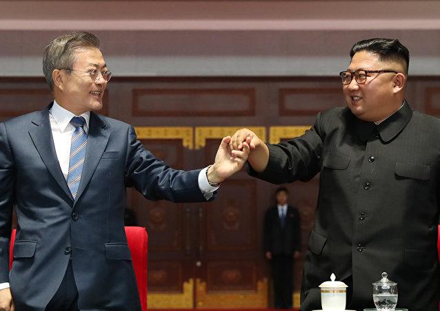 韩国总统称6月未筹备朝韩峰会 但也未取消