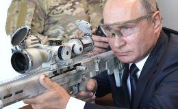 俄羅斯總統普京在愛國者花園