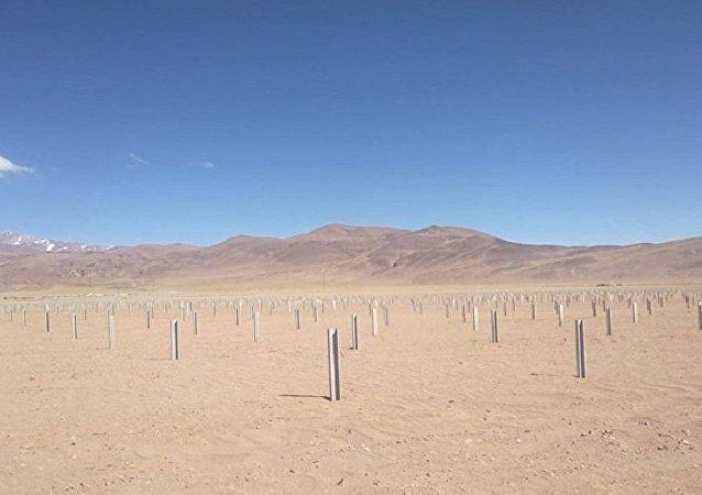 阿根廷正與中國共建世界上海拔最高的太陽能公園