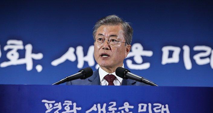 文在寅稱朝鮮半島和平條約在實現無核化後才能簽署