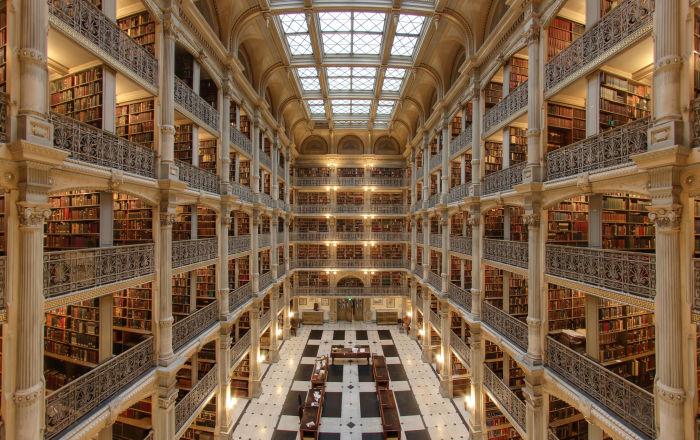 世界上最美麗的12座圖書館