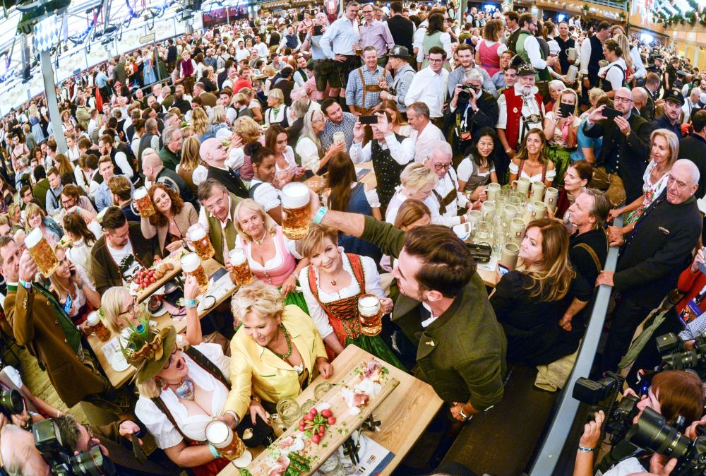 德國慕尼黑啤酒節開幕