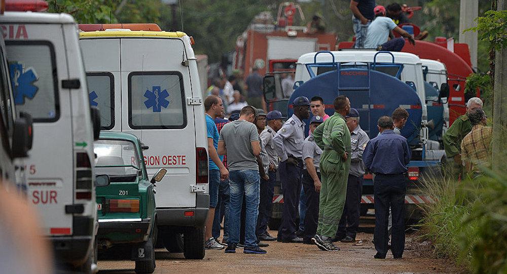 古巴紧急部门人员