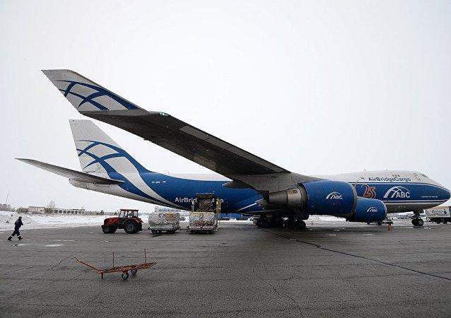 俄罗斯空桥货运航空公司(AirBridgeCargo)的Boeing-747货机