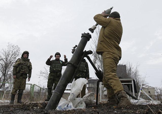 顿涅茨克:乌军过去一昼夜在顿巴斯破坏停火17次