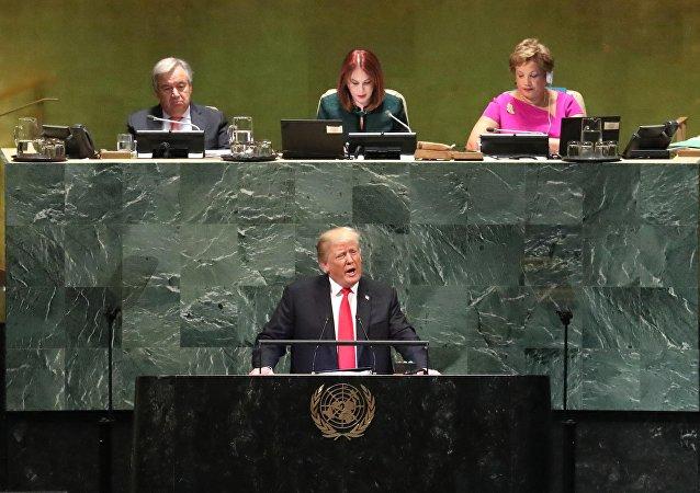 为什么特朗普在联合国大会上遭到嘲笑