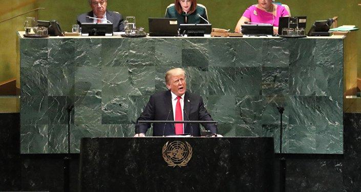 特朗普:解決敘利亞衝突的方案應考慮伊朗在敘勢力