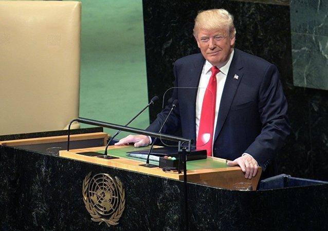 聯合國大會與會者以笑聲迎接特朗普的發言 他沒有預料到這種反應
