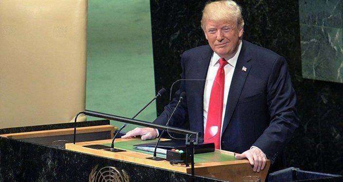 联合国大会与会者以笑声迎接特朗普的发言 他没有预料到这种反应