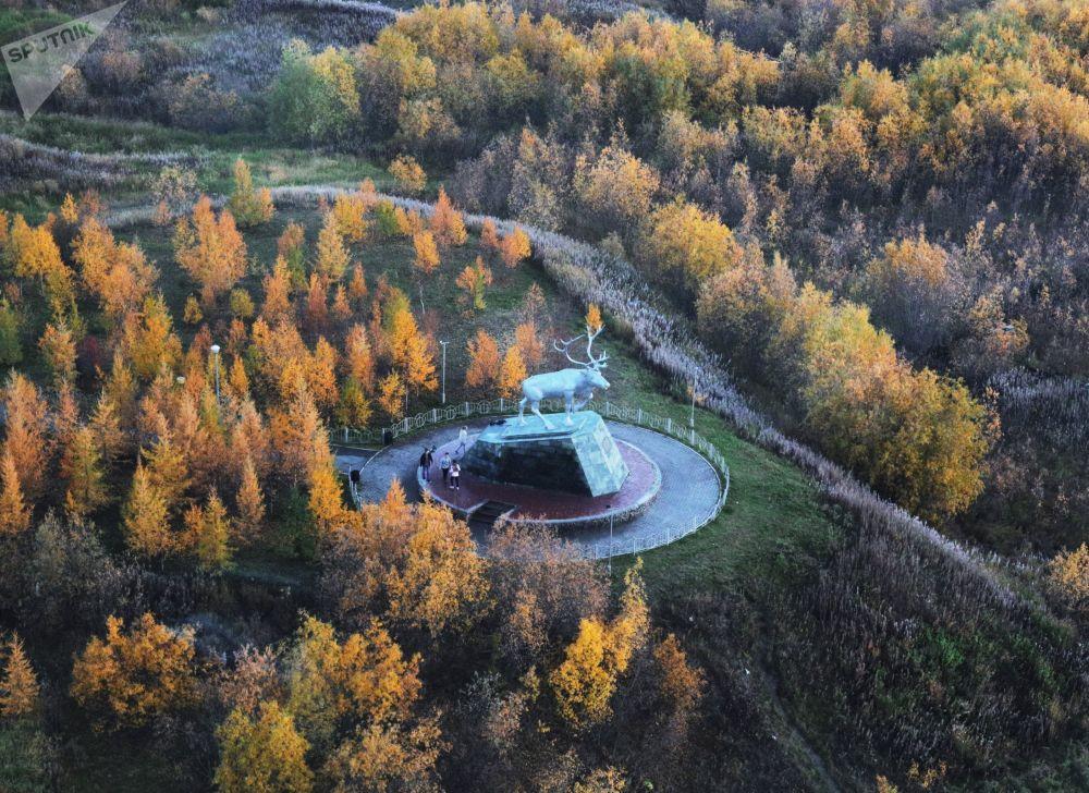 萨列哈尔德:北极圈内唯一城市