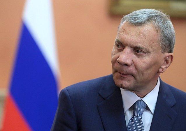 俄罗斯副总理鲍里索夫