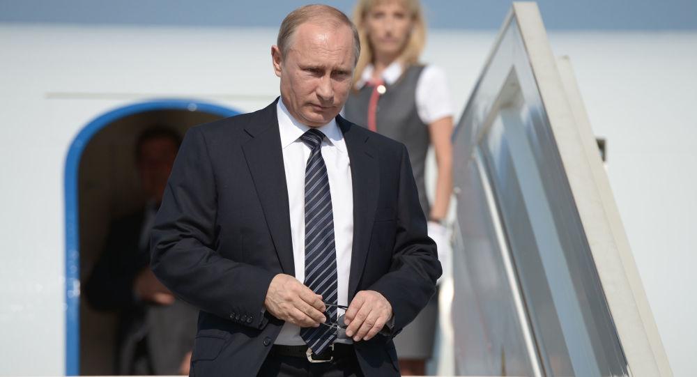 普京已抵達哈薩克斯坦進行為期兩日的訪問