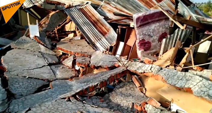 印尼地震引發海嘯