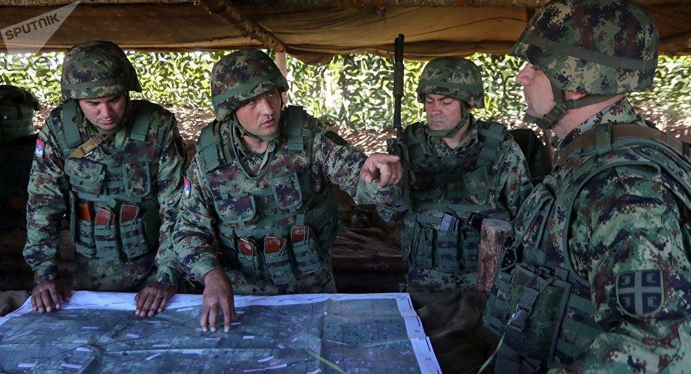 俄罗斯与塞尔维亚打算使联合军演年度化