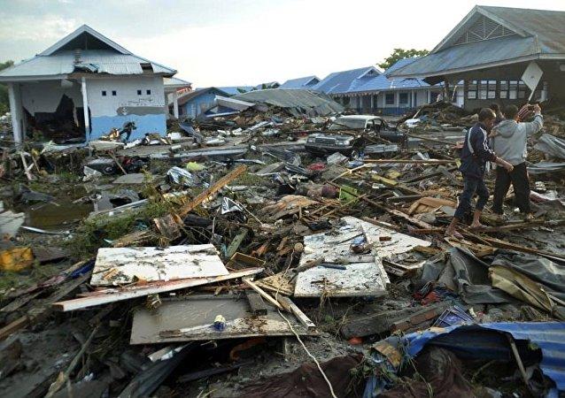 印度尼西亞地震受傷人數已達420人
