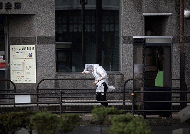 台风潭美造成的受伤人数接近50人