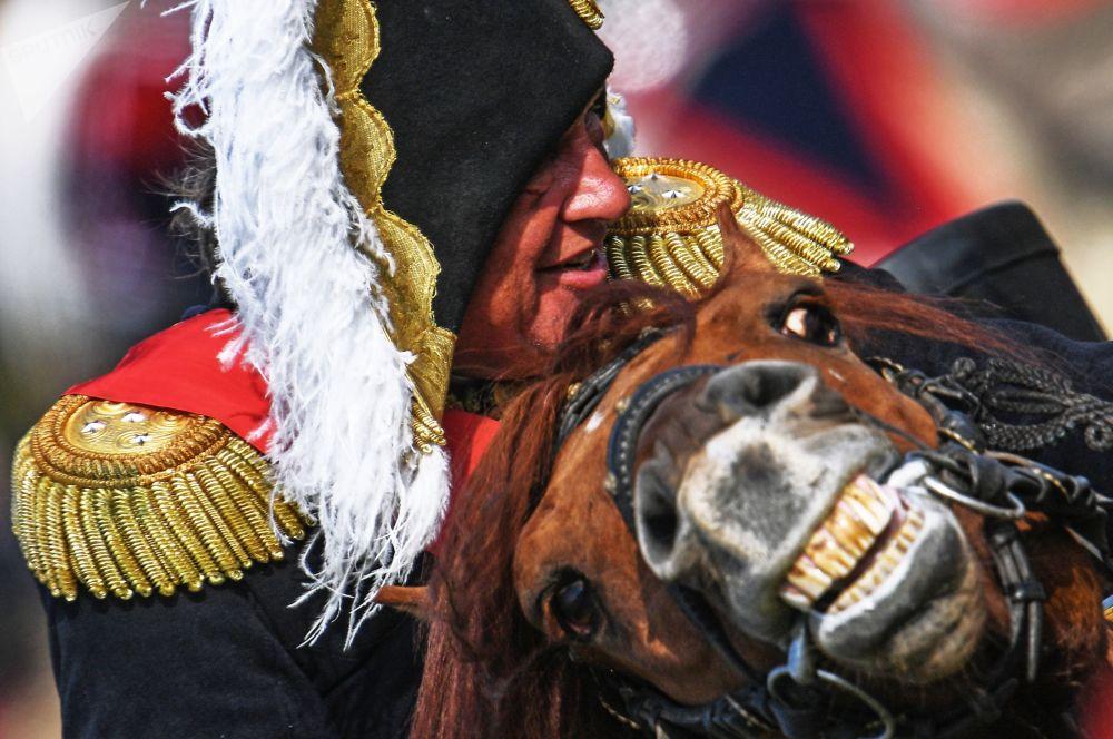 俄羅斯舉行活動在莫斯科州重現博羅季諾戰役