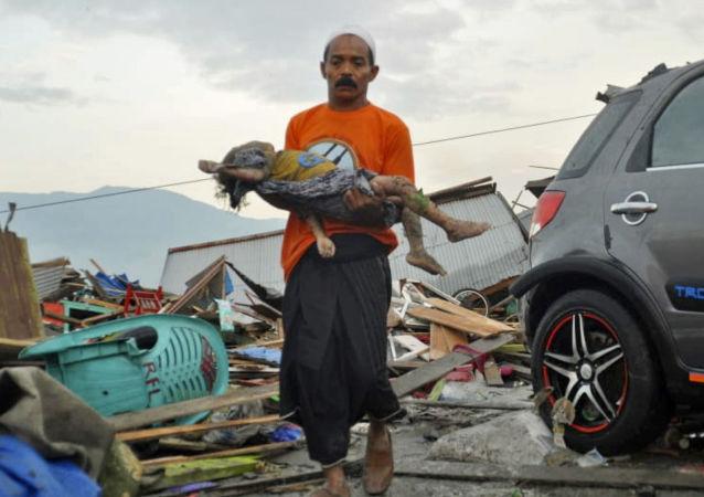 印度尼西亚地震
